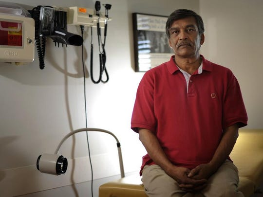 Hassen Ahmed, a Pakistani immigrant and naturalized citizen, could qualify for coverage under the Affordable Care Act if he made enough money to obtain a subsidy to help him pay premiums.
