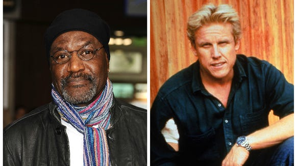 LEFT: Delroy Lindo. RIGHT: Gary Busey.