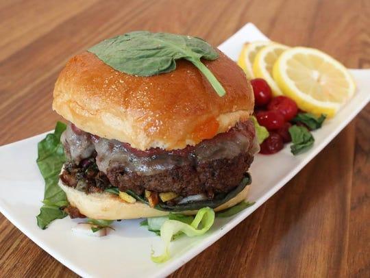 Cedar's Cafe's most recent winning blended burger features