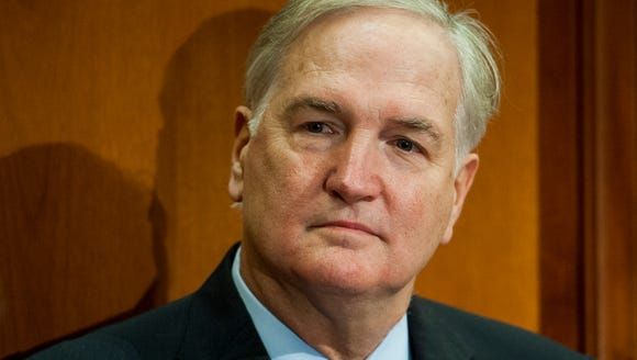 Alabama Attorney General Luther Strange is appointed,