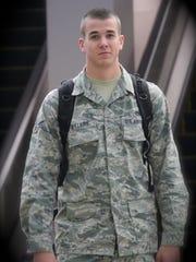 Senior Airman Drew Bellairs drowned on July 25 in Guam.