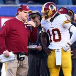 Washington Redskins coach Jay Gruden has said Robert Griffin III won't be the starting quarterback.