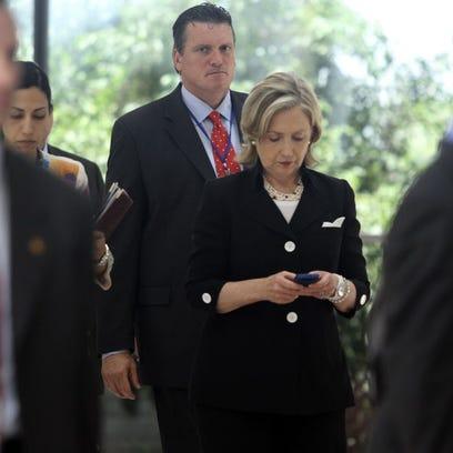 U.S. Secretary of State Hillary Clinton in Hanoi in