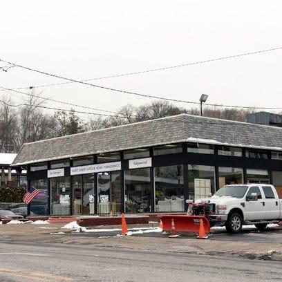 The former Ken Smith Motors on Franklin Avenue, seen