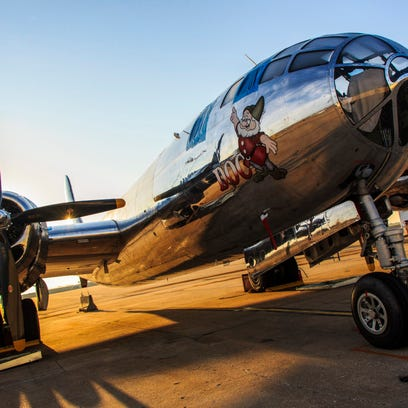 """The B-29 Superfortress known as """"Doc."""" The aircraft"""