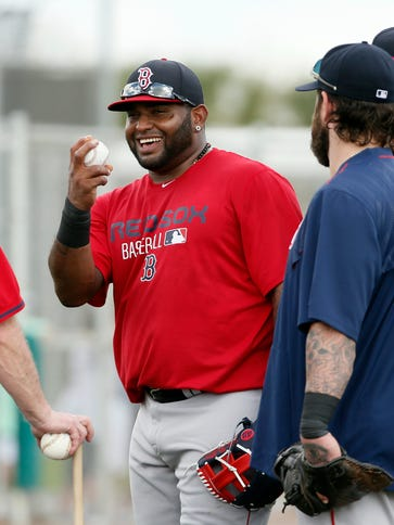 Pablo Sandoval joins a much-improved Boston Red Sox