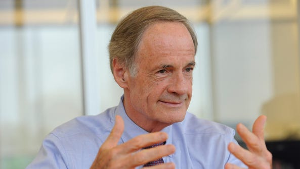 Delaware Sen. Tom Carper is the top Democrat on the