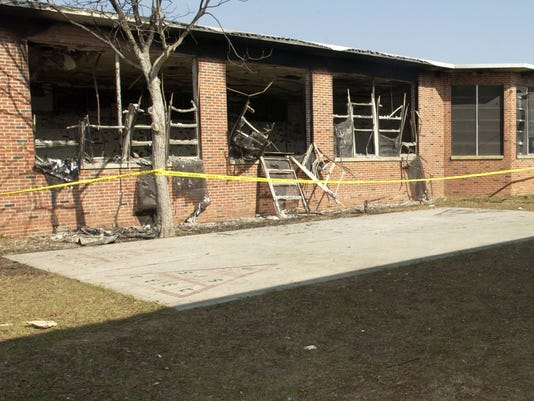 Brownsville Middle Fire 1