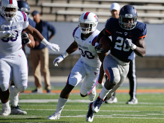 The Miners fell for the 11th straight time this season, losing to Louisiana Tech 42-21 on Saturday in Sun Bowl Stadium.