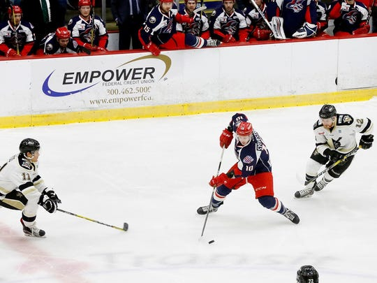 The Elmira Jackals play one of their last games at