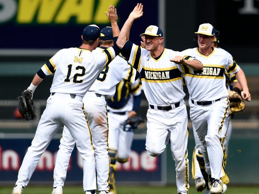 B10 Illinois Michigan Baseball