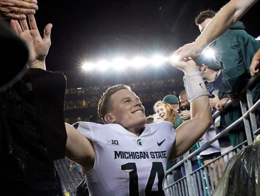 NCAA Football: Michigan State at Michigan