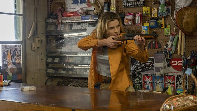 """Betty Gilpin stars in """"the Hunt."""""""