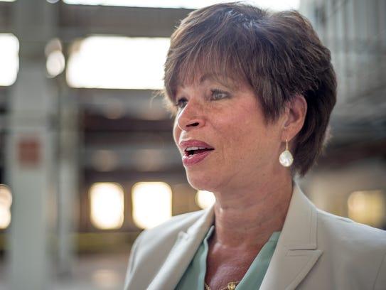 Obama senior adviser Valerie Jarrett during her visit