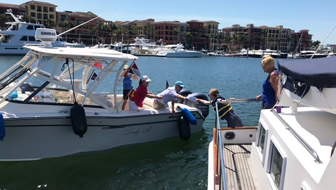 The Marco Island Yacht Club held its 2nd Annual Nautical Scavenger Hunt on Thursday April 5.Eight boats and 50 team members participated.