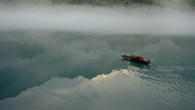The Dongjiang river supplies 70% to 80% of the city's water.