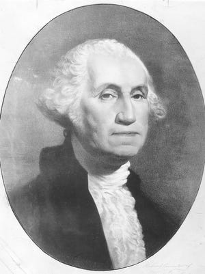 George Washington served as the first U.S. president from 1789 to 1797.