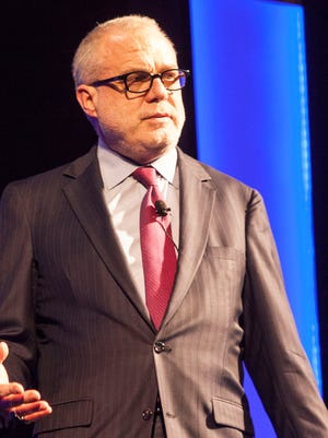 Aetna CEO  Mark Bertolini on Tuesday at a Greater Louisville Inc. event.
