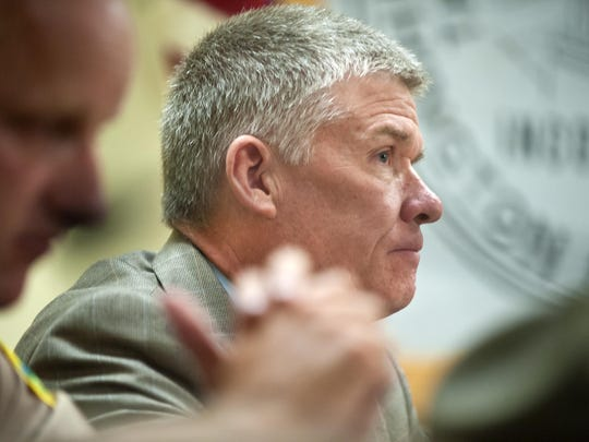Keith Flynn, commissioner of the Vermont Department of Public Safety, pictured in August 2014.
