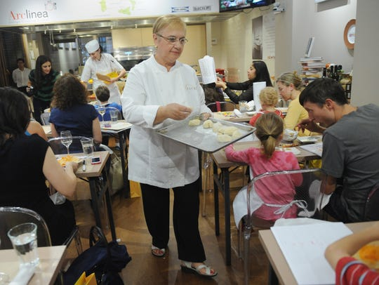 Chef Lidia Bastianich will talk about her new book