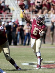 Golson has thrown 11 touchdowns and 0 interceptions for FSU in 2015.