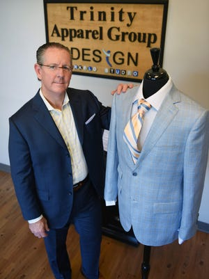 Founder and CEO Wen Nance operates Trinity Apparel Group from his headquarters in Ridgeland.