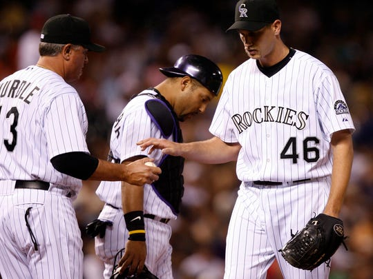 Zach McClellan only made 12 MLB starts with the Rockies.