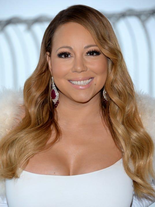 AP Mariah Carey Valentine's Day Empire State Building Lighting
