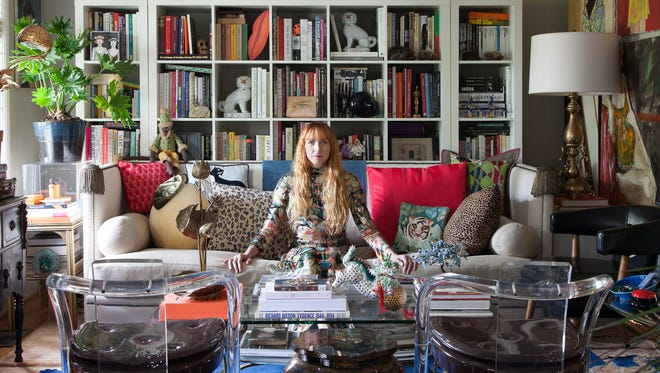 Libby Callaway in her Nashville home.
