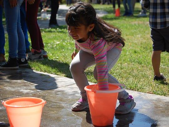 Children participate in fun activities offered by Wonder