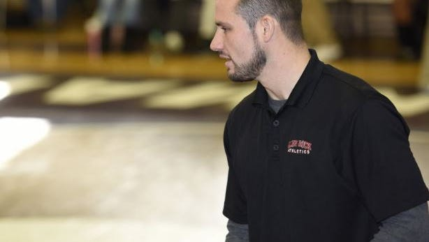 Glen Rock wrestling coach Corey Fitzpatrick is trying to build a strong program.