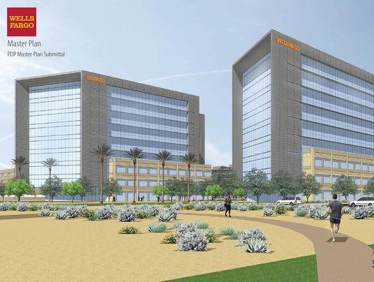 Wells Fargo Plans Bigger Taller Chandler Campus