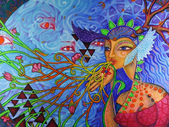 """""""Breath Magic"""" by Adelaide Marcus."""