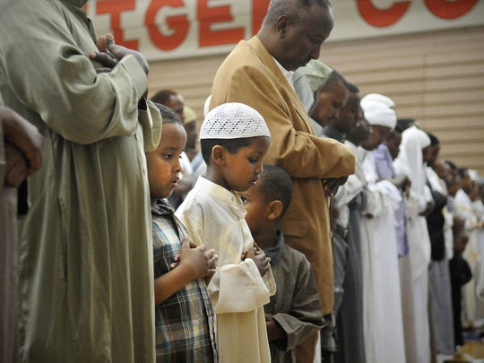 St. Cloud area Muslims gather in worship in Aug., 2011,