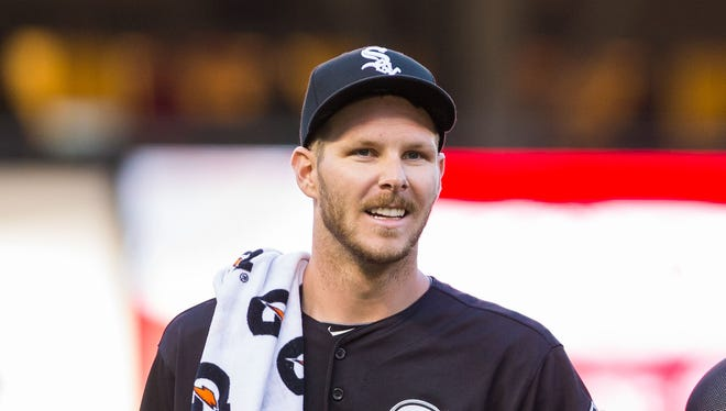Chris Sale struck out 12 over 7 2-3 shutout innings.
