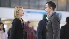 Claire Danes, left, and Rupert Friend star in Showtime's