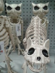 Spooky skeletons come in all shapes and sizes at Wixom's newest home store.