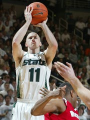 Drew Neitzel scored 28 points and hit six 3-pointers to lead MSU to an upset of No. 1 Wisconsin on Feb. 20, 2007. That MSU team had more limitations than this year's squad but seemed to be better embraced by Spartan fans.