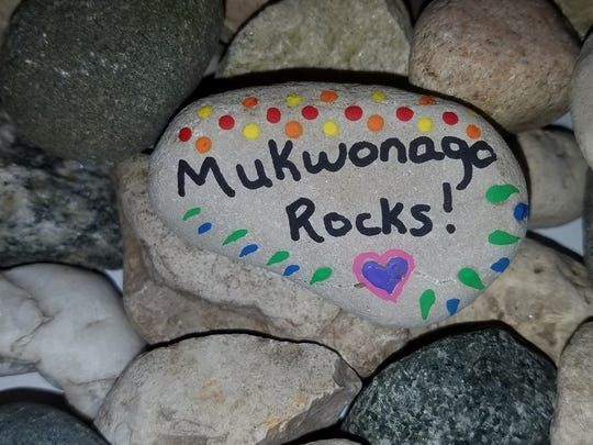 Patti Wood launched the Facebook page and group  Mukwonago Rocks! The activity is a painted-rock scavenger hunt suitable for the whole family.   Wood's goal is to get as many artists as she can to participate in keeping the hunt going.