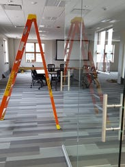 The new Wausau Community Room at the Marathon County