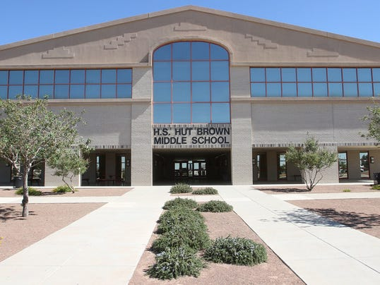 Brown Middle School, built in 2007 near the EPISD s border with the Canutillo Independent School District, is expected to see the lowest utilization in five years at only 43 percent of capacity. Its enrollment is expected to fall 26 percent over the next five years, from 856 students in 2013-14 to 630 students in 2019-20.