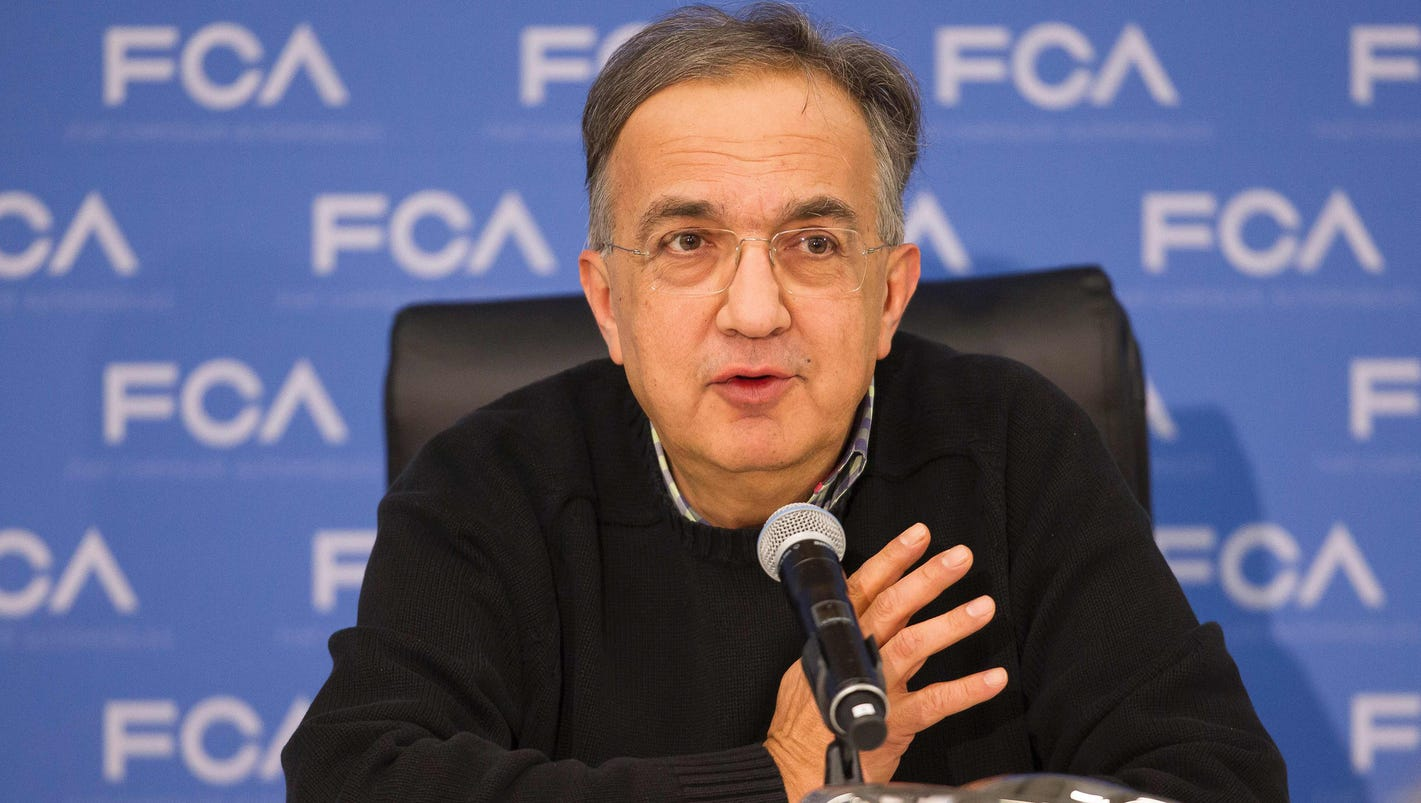 Marchionne suggests Fiat Chrysler could partner with Hyundai on hydrogen fuel cells