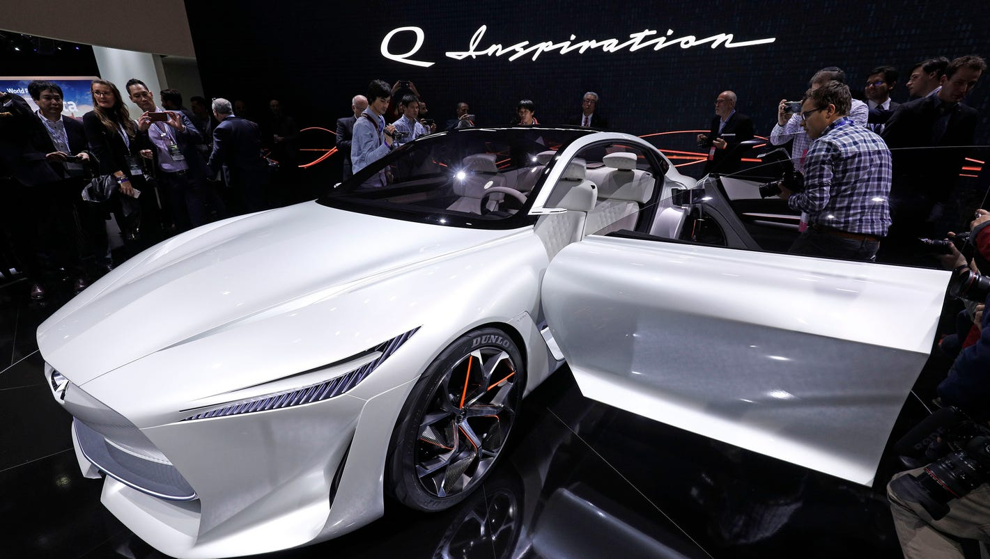 2018 detroit auto show infiniti to switch to electric cars hybrids. Black Bedroom Furniture Sets. Home Design Ideas