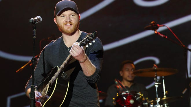"""Eric Paslay is up for a Grammy Award next month for his performance of """"The Driver"""" with Charles Kelley and Dierks Bentley. """"That'll be a fun hang,"""" he says of Grammy night. """"I'm definitely going."""""""