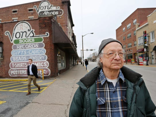 John von Erdmannsdorff, owner of Von's Shops, Tuesday,