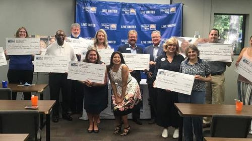 United Way of Onslow County presented $200,000 in grants July 16 to 12 local nonprofits supporting 18 programs in Onslow County. This year marks the 65th year United Way of Onslow County has supported local nonprofit through the annual giving campaign.