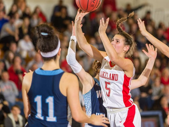 Lakeland sophomore Keira Marks earned First Team All Passaic County honors after leading the Lancers to a second-straight Passaic County Tournament championship game.