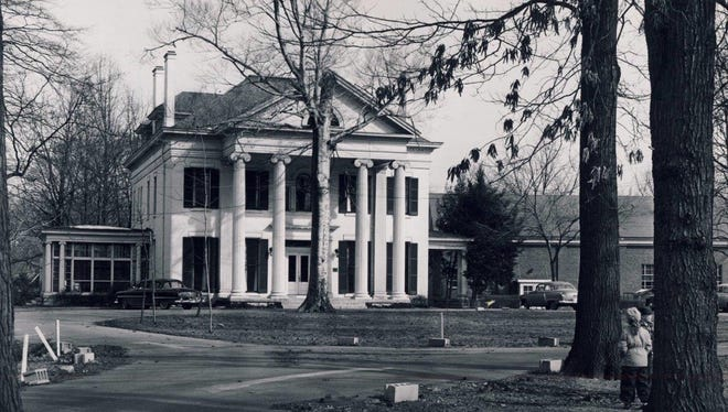 Woodbourne House, 2024 Woodford Place near Douglass Boulevard and Bardstown Road, is shown Jan. 18, 1955.