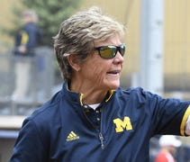 It was time for the Michigan softball team, two da...