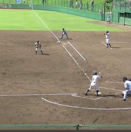 Chukyo High School beat Miura Gakuen High School in the longest game in National High School Rubber Baseball Tournament history Sunday.